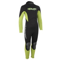 Wetsuit neoprene 2mm child/teen fullsuit lime Aropec