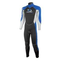 Wetsuit neopren 2,5mm fullsuit men blue Aropec