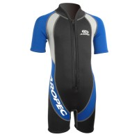 Child / infant neoprene wetsuit 2mm Blue Aropec