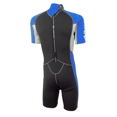 Shorty wetsuit Neoprene 2.5mm blue Aropec