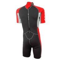 Shorty wetsuit Neoprene 2.5mm red Aropec