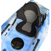 Backrest-seat kayak Deluxe