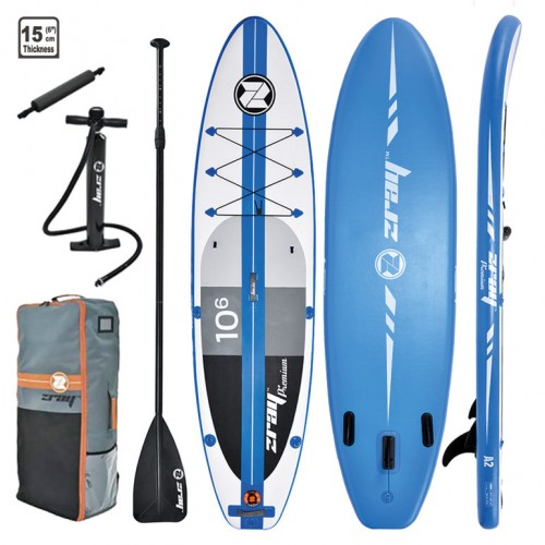 Inflatable SUP board A2 premium 10'6'' zray with paddle
