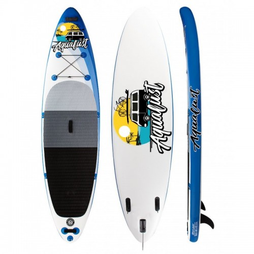 AquaLust Inflatable SUP board 10' complete with 2 in 1 paddle - Blue