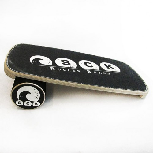 Balance Board with roller SCK white B-grade 3