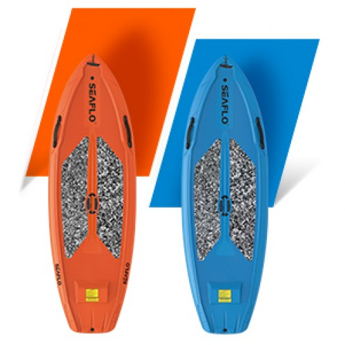 SUP board 9'6'' polyethylene SeaFlo with SUP paddle