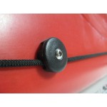 Holder for elastic rope or rope