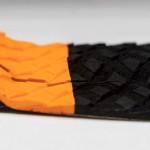 ROAM Footpad Deck Grip Traction Pad 3pc / Black-Orange