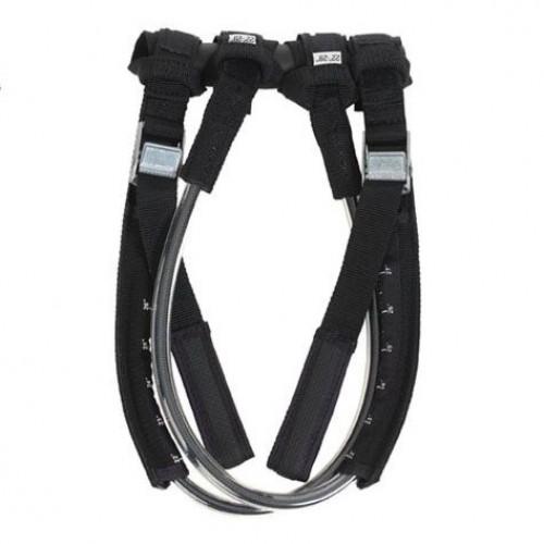 Harness lines set adjustable with metal buckle