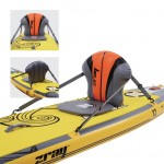 Inflatable seat for SUP or kayak zray