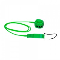 Surfboard Leash ION 7' 215cm 7mm Green