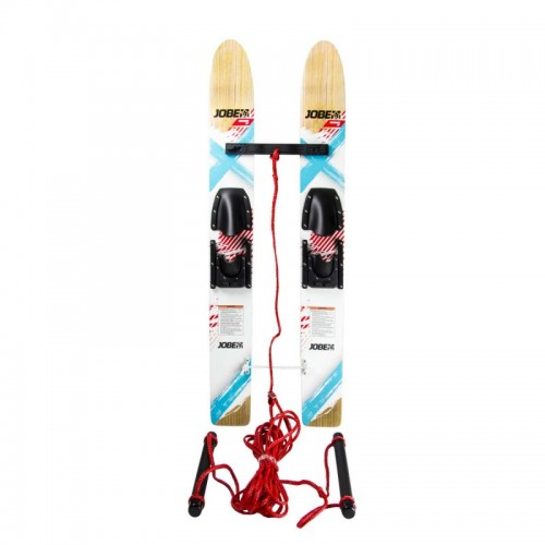Jobe Buzz Trainer Kids Waterskis complete set