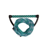 Handle with rope Wake combo Prime Jobe - Teal Blue