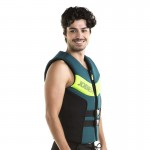 Neoprene mens vest Segmented Dark Teal
