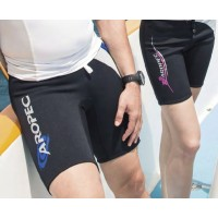 Neoprene Shorts for man 2mm black-blue Aropec