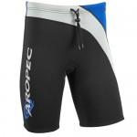 Neoprene Shorts for man 2mm black-blue Aropec
