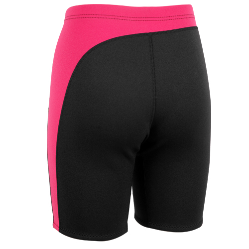 Neoprene Shorts ladies 2mm black-pink Aropec