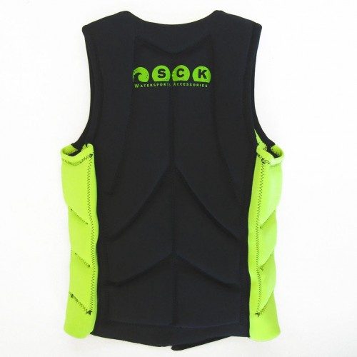 Impact vest for water sports SCK Green