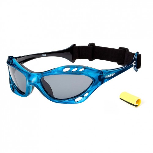 Ocean Sunglasses with polarized lens / Floating  / CUMBUCO / Blue
