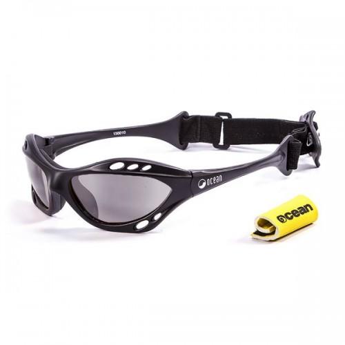Ocean Sunglasses with polarized lens / Floating  / CUMBUCO / mate Black