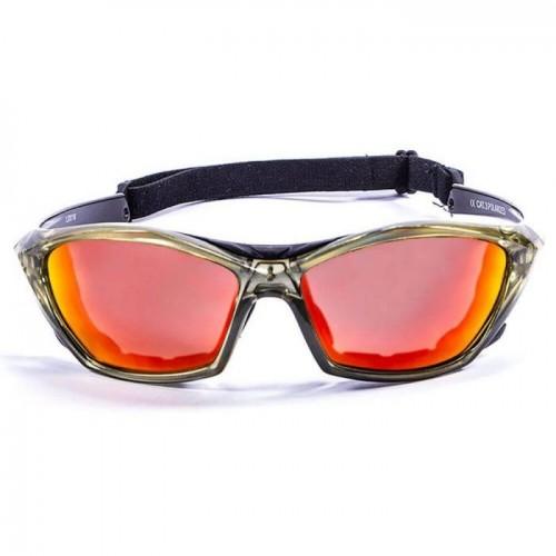 Ocean Sunglasses with polarized lens / Floating  / Lake Garda Green-RevoRed