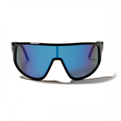 Sunglasses Killy shiny black with blue polarize lens