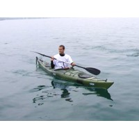 1 person seat-in kayak Otium Ι with paddle