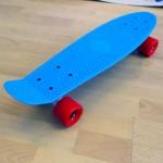 Πλαστικό skateboard 22.5'' Γαλάζιο Fish
