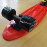 Πλαστικό skateboard 22.5'' Κόκκινο Fish