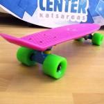 Πλαστικό skateboard 22.5'' Μωβ Fish