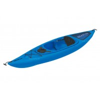 Seaflo Sit-in Kayak with paddle Blue