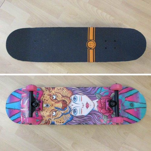Skateboard 31'' Lion Lady Fish