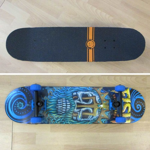 Skateboard 31'' poseidon Fish
