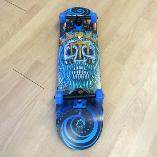 Skateboard 31'' Poseidon Fish