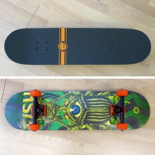 Skateboard 31'' Watching Bug Fish