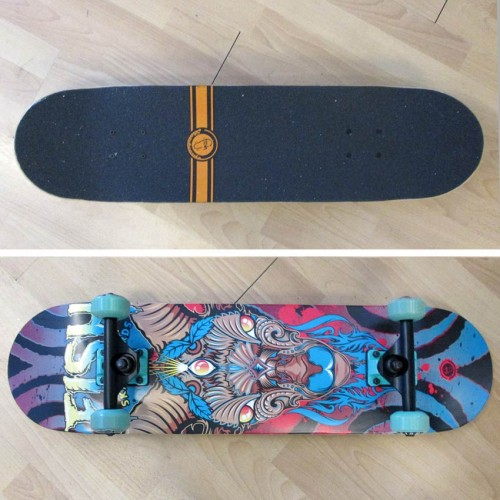 Skateboard 31'' Three Eye Goat Fish