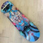 Skateboard 31'' Three Eye Goat Fish