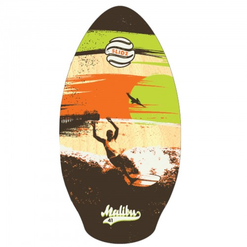 Skimboard SLIDZ 41 105cm Malibu brown lime