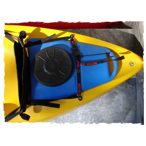 Removable waterproof storage for Bay Kayak