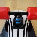 Ξύλινο cruiser skateboard 27'' Μαύρο Fish