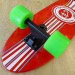Ξύλινο cruiser skateboard 27'' Κόκκινο Fish