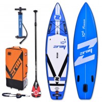 Inflatable SUP board Fury Pro 10'6'' zray complete package