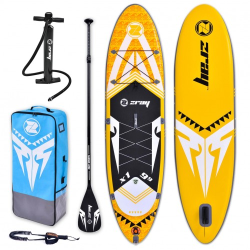Inflatable SUP board X-rider 9'9'' zray complete package