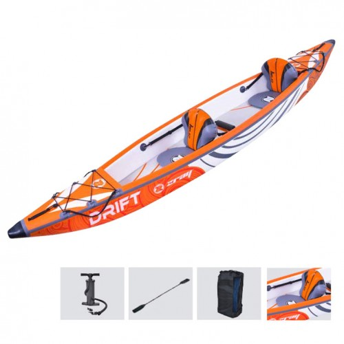Inflatable kayak for 2 person Drift Zray