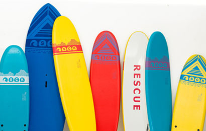 Discover the surfboards and choose the right one