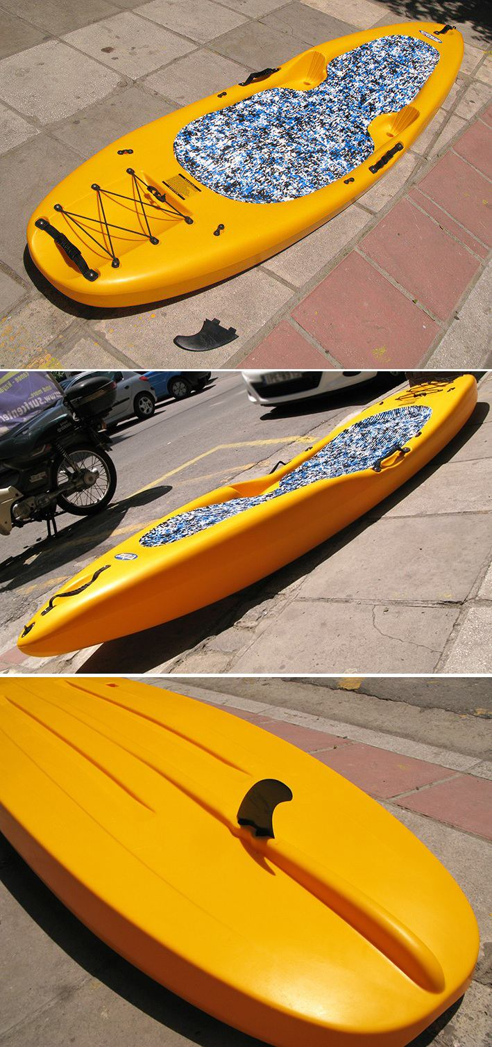 SUP Kayak KungFU Winner used