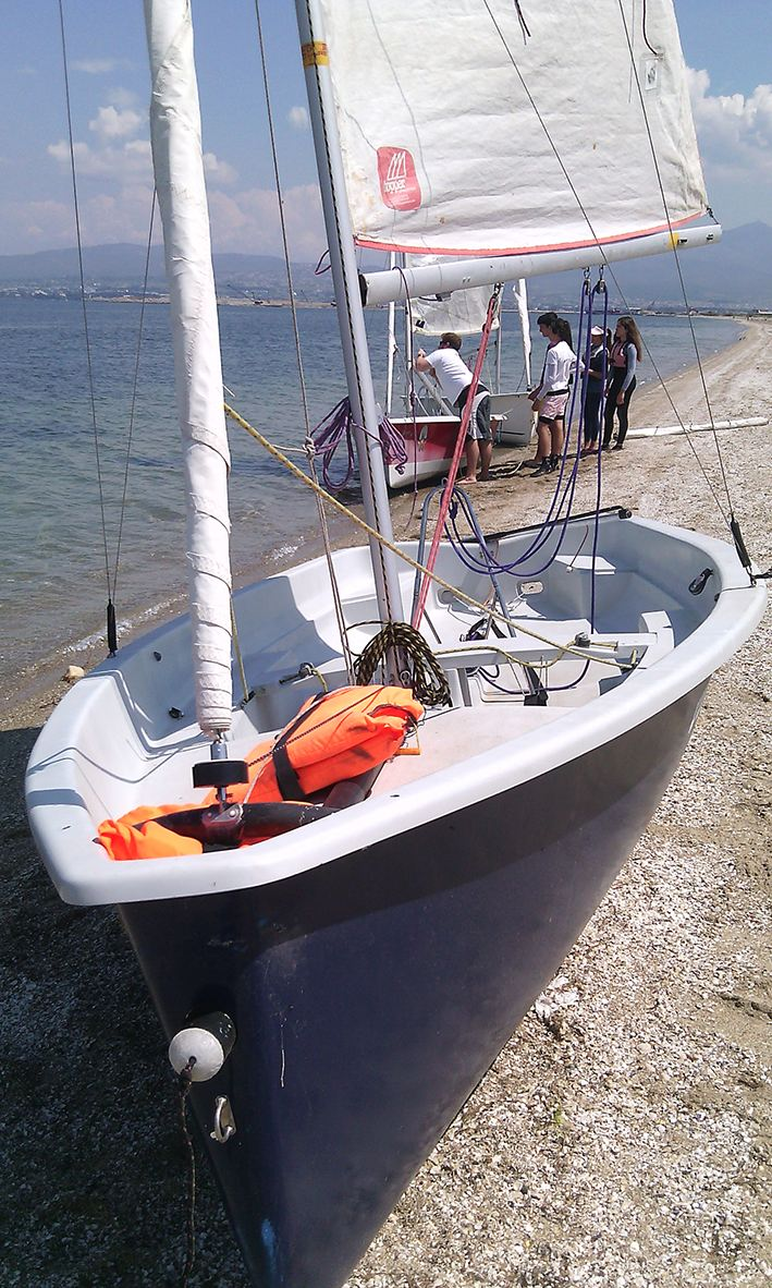 Topper16 used sailing boat 1